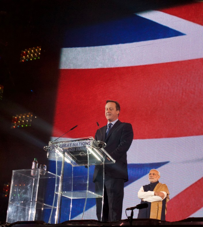 David Cameron Introduction Speech At Wembley